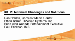 3DTV: Technical Challenges and Solutions