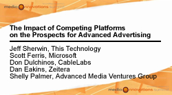 The Impact of Competing Platforms on Advanced Advertising