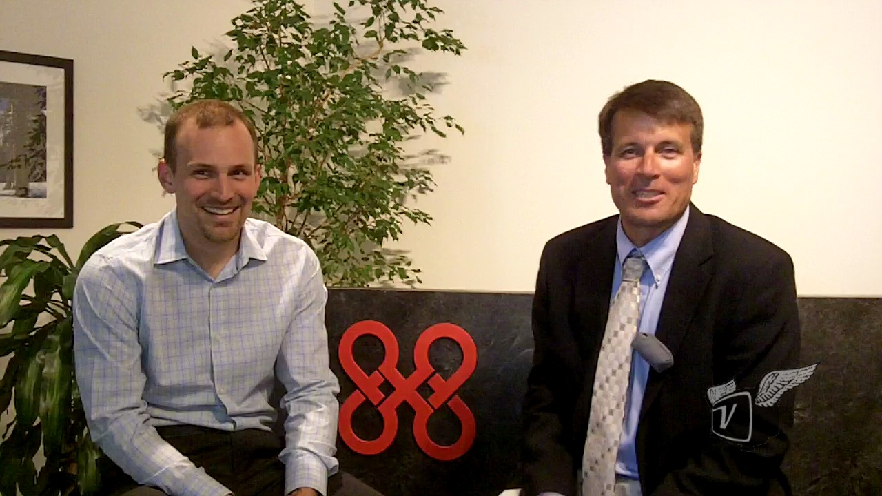 Andy Schwabecher of 8x8 discusses hosted conferencing and cloud storage solutions.