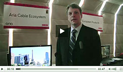 Aria Demo with EchoStar Technologies' product manager Alistair Chatwin