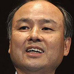 Masayoshi Son, chairman & CEO, SoftBank