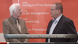 Sigma Systems president Tim Spencer explains how his firm's advanced enterprise catalog solution has given leading service providers the comprehensive control over product management that's […]