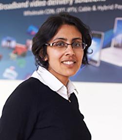 Nivedita Nouvel, VP, marketing, Broadpeak