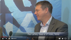 Paul Larbey, head of IP video business at Nokia, describes solutions designed to help MVPDs and broadcasters pursue new opportunities in dynamic advertising and to […]