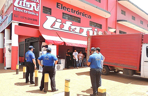 A police raid in Paraguay was part of enforcement action in a case against retail stores Casa Litani and Nadia Centerfiled filed by NAGRA and Discovery Communications in June 2015.